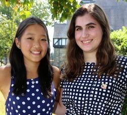 Seniors Natalie Kwan of Saddle River and Allison Berger of Madison were named National Merit® Scholarship Program Semifinalists