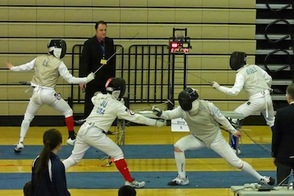 Gov. Livingston Fencers Ace District Tournament, photo 9