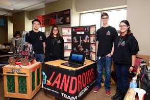 Landroids at Vermont State Championship