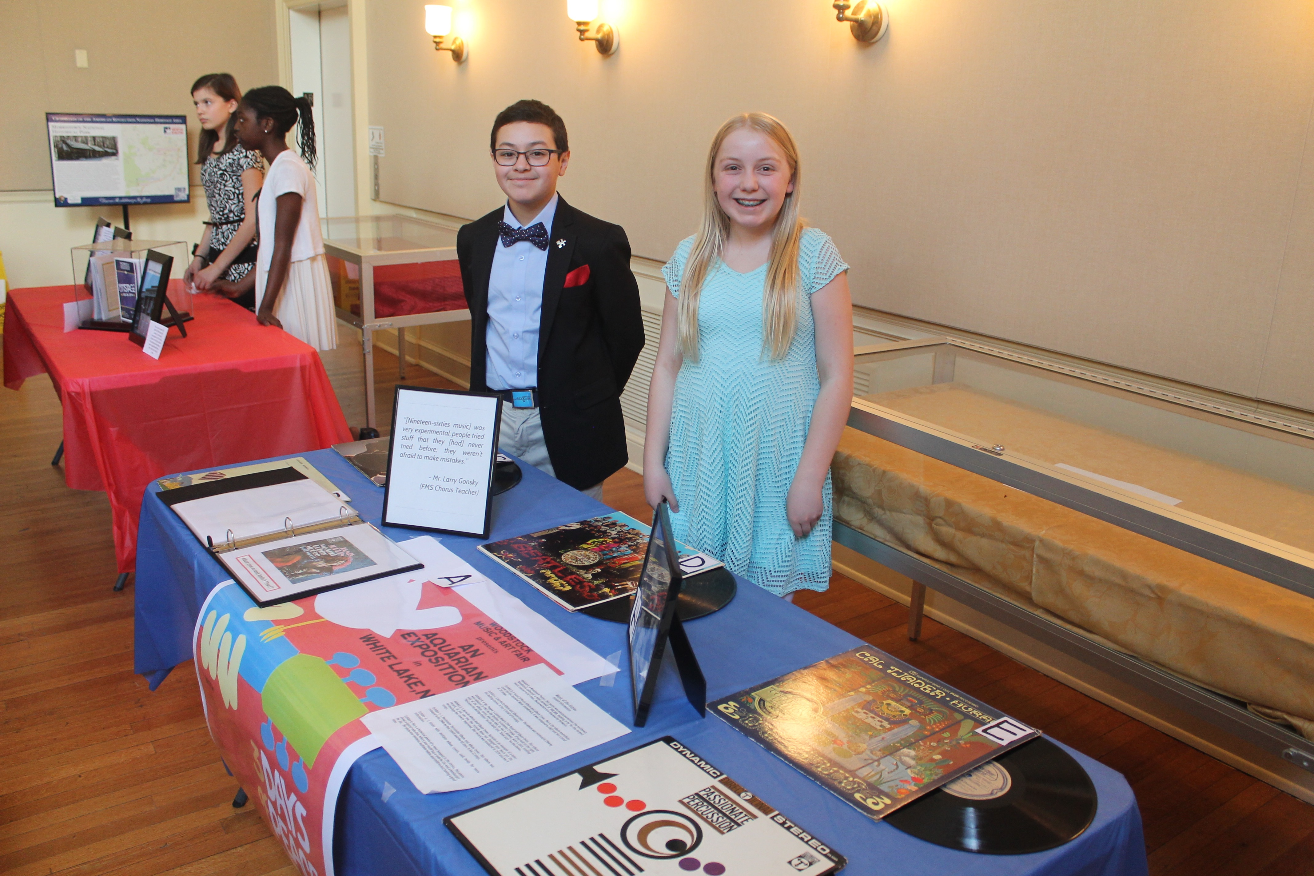 Frelinghuysen Family - The future is bright and the past is present frelinghuysen middle school students give live to the morristown historical society