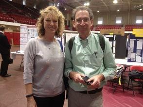 Summit HS Science Research Teachers Cynthia Vitale and Benjamin Greene