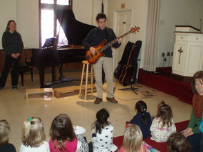 Music Week at Westminster Nursery School, photo 4