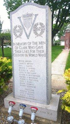 Honoring Clark's War Dead