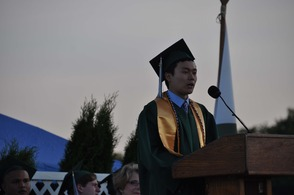 MTHS Valedictorian Kevin He