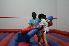 Jousting at Project Graduation 2014