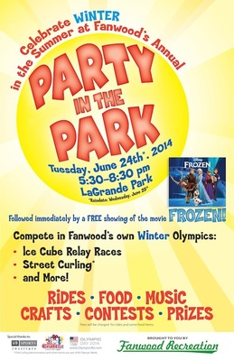 Party in the Park Precedes Showing of Disney's Frozen at LaGrande Park on Tuesday, June 24., photo 2