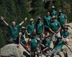 Troop 8 Scouts Tackle Philmount
