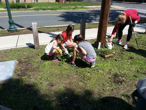 South Orange's Irvington Avenue 'Clean Up, Green Up' Event a Success, photo 2