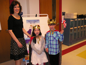Westfield Kindergarteners Host Royal English Tea, photo 2
