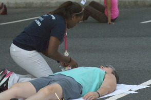 Students Learn EMS Procedures in Mass Casualty Drill, photo 7