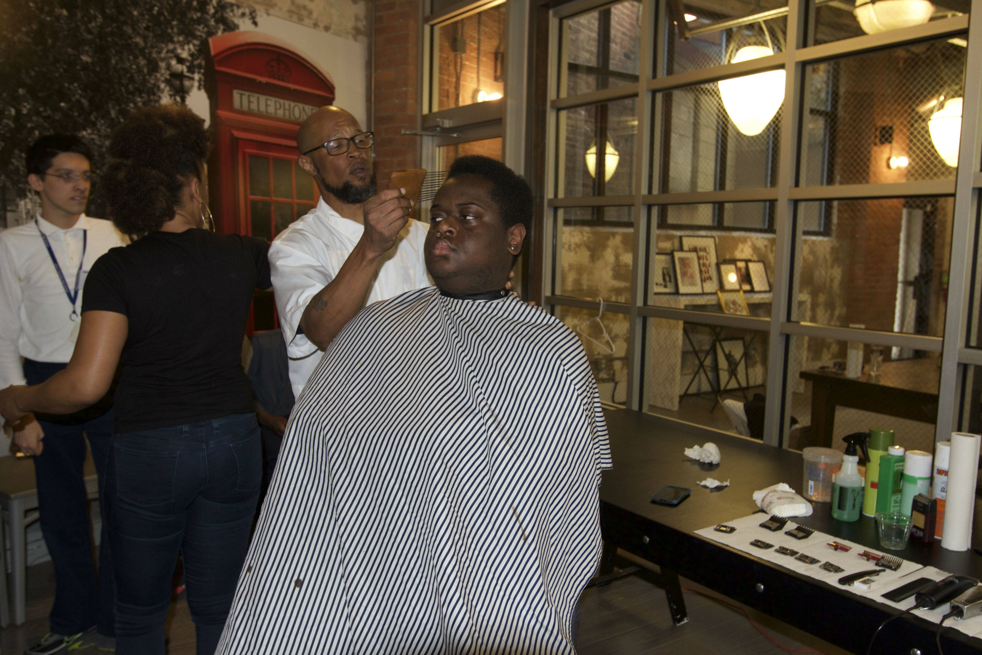 Fade To Books Two Montclair Barbers Give Free Haircuts In Exchange