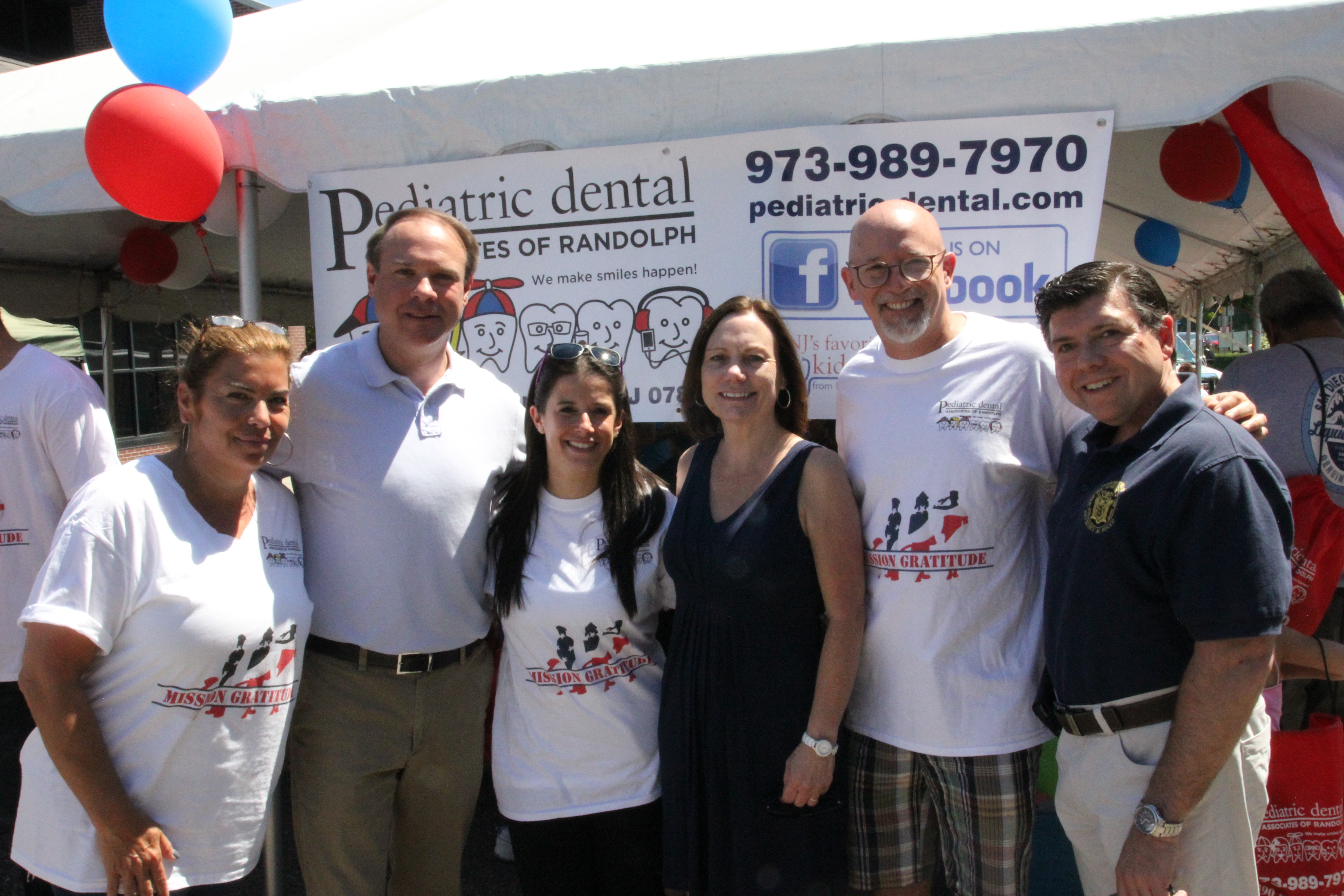 Pediatric dental s first annual mission gratitude honors for Randolph and associates