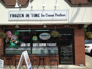 Frozen in Time Ice Cream Parlour