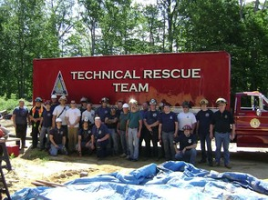 New Providence Technical Rescue Squad Drills Trench Rescue, photo 1
