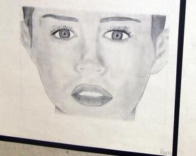 Miley Cyrus portrait