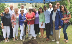 Roselle Community Joins Dr. Polk Family and Plants Time Capsule, photo 28