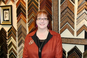 Gina Bellando, owner of Frames & Framers