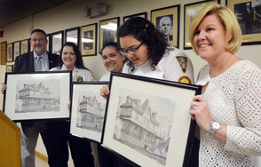 Rescue Squad volunteers honored at Borough Hall