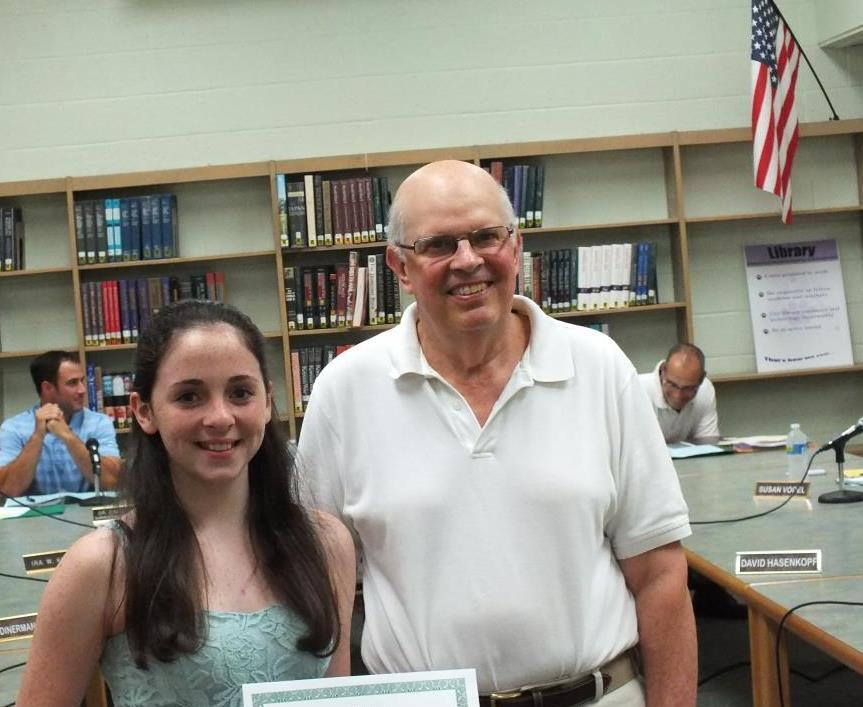 New Providence High School Students to Summer with iPads; Roberts Student Honored