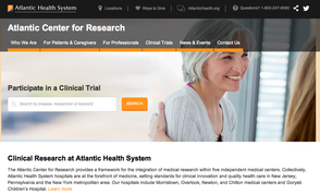 Atlantic Health System Launches New Website to Educate Patients, Physicians About Clinical Trials and Research, photo 1