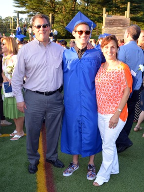 Graduation Scenes in Scotch Plains-Fanwood, photo 1