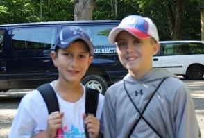 Senior Campers Jason and Ryan