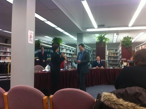 Leslie Winograd is Sworn In