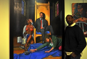 Oscar Petersen and his artwork
