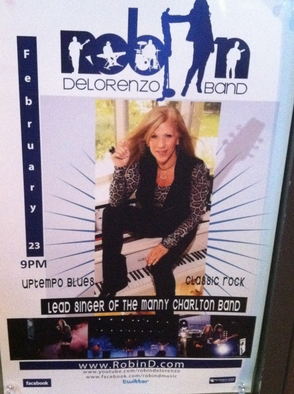 Hopatcong's own Robin DeLorenzo rocks the house on Saturday night =)