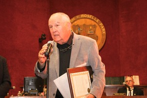 Roselle Park Honors Former Graduate with Key to the City, photo 7