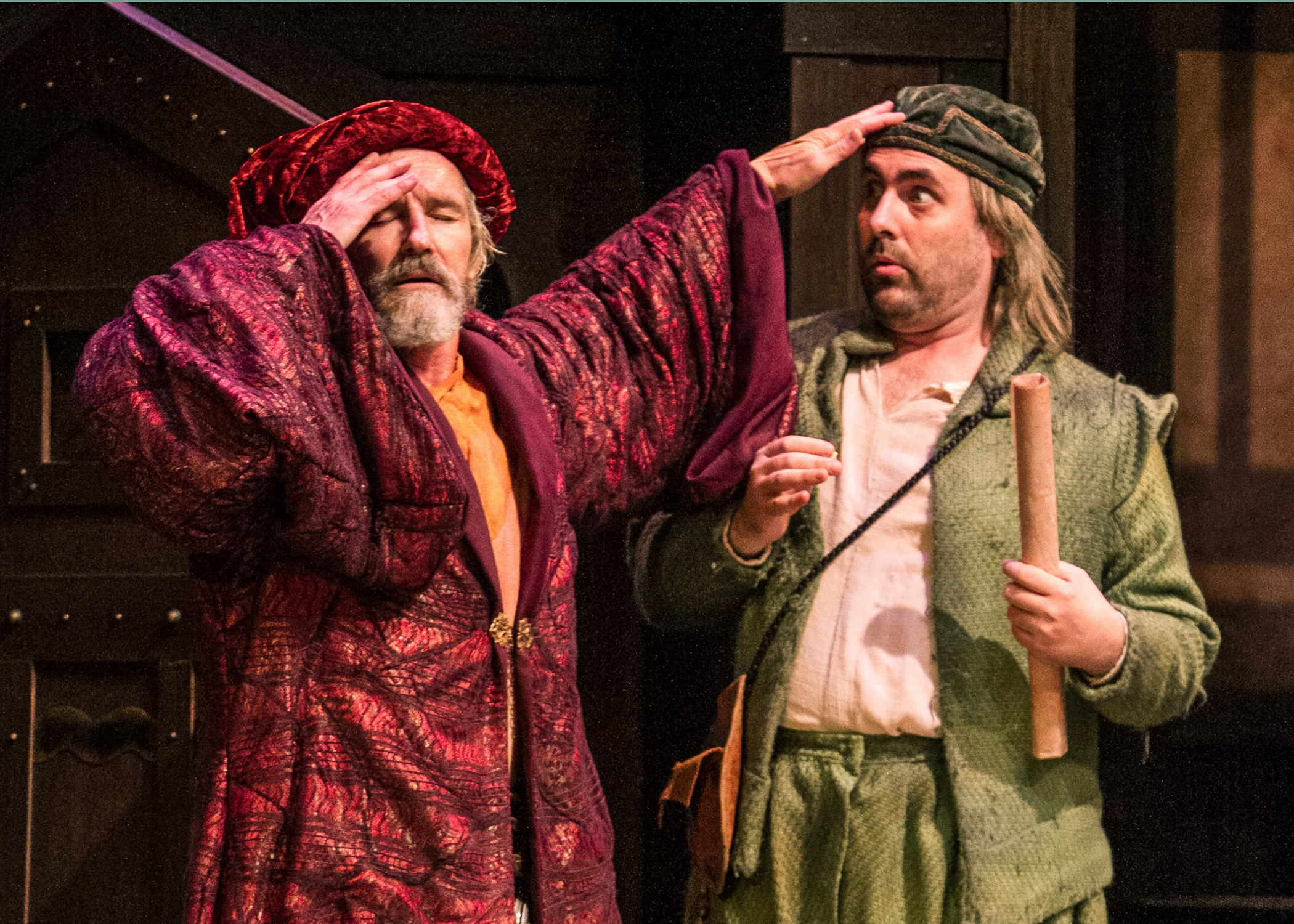 The alchemist opens at the shakespeare theatre of new for Farcical plot
