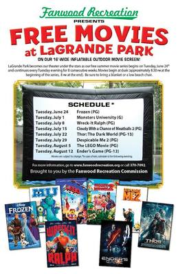 LaGrande Party in the Park as Summer Outdoor Film Series Begins on Tuesday, June 24, photo 1