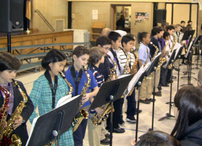 Coles School Fourth-Graders Perform at Winter Concert, photo 1