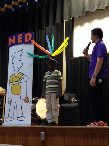 NED Show Assembly Held at Pleasantdale Elementary - West ...