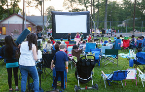 Free movies in LaGrande Park start on Tues, June 24