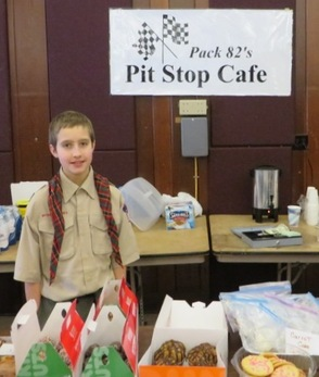 Pack 82's Pit Stop Cafe