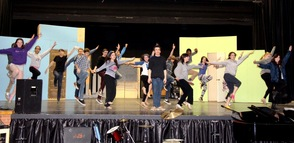 """How to Succeed in Business"" SPF Repertory Theatre Cast"