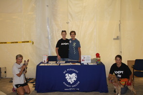 Mt. Pleasant Animal Shelter Employees and Volunteers