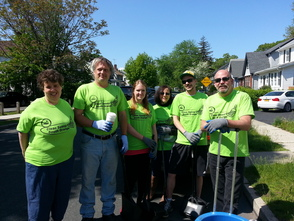 South Orange's Irvington Avenue 'Clean Up, Green Up' Event a Success, photo 5