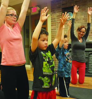 Campers ages 5-10 will enjoy a variety of activities in the SummerFun Special Needs Inclusion Camp, including Yoga.