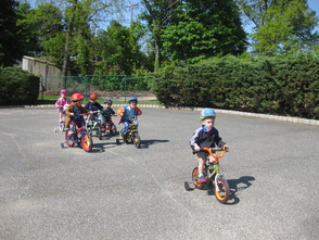 The Academy Preschool and Kindergarten Rides for St. Jude Children's Research Hospital