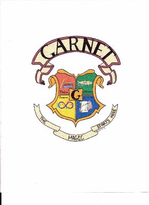 The Garnet Team emblem designed by Julia Young,