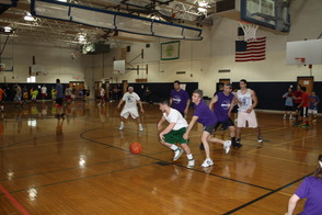 3 on 3 Charity Basketball Participants