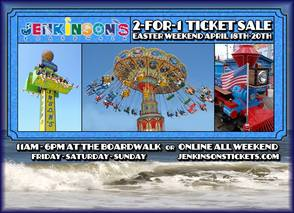 Get Ready For Summer: It's Time For Jenkinson's Easter Weekend 2 For 1 Sale, photo 1