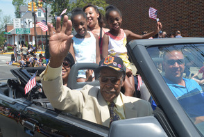 Memorial Day Parade Grand Marshal Malcolm Nettingham