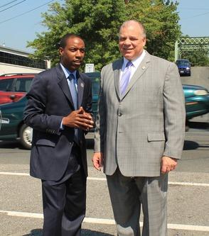 Senate President Steve Sweeney Visits Roselle Bridge to Address NJ Infrastructure, photo 6