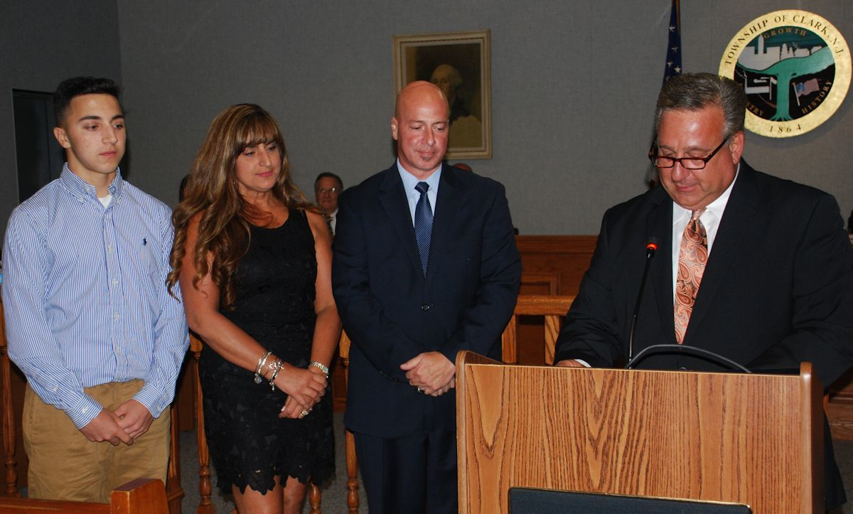 clark township resident honored for work young athletes clark township resident honored for work young athletes clark nj news tapinto