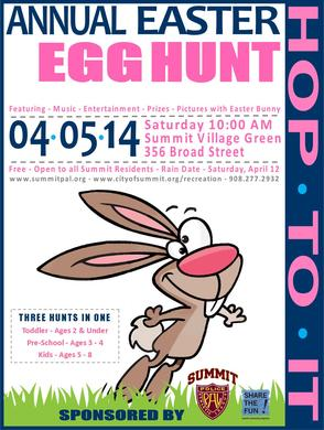 Summit PAL Easter Egg Hunt Slated for Apr. 5, photo 1