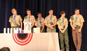 Boy Scout Troop 150 Eagle Scouts