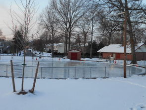 LaGrande Park Re-Opens Ice Skating Rink, photo 1